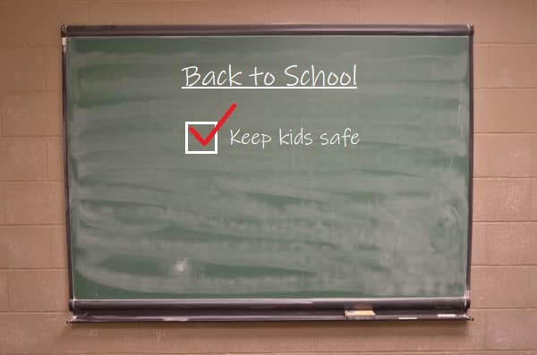 Adding School Safety Products to Back to School Checklists