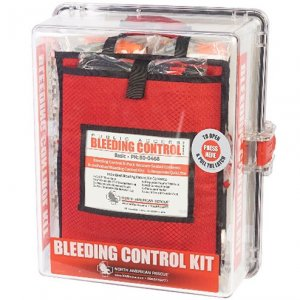 bleed control 8 pack clear