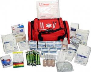 lockdown emergency supplies - medical duffel kit