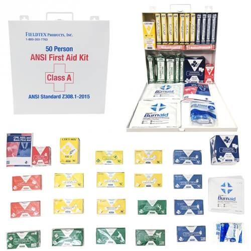ANSI A 50 Person First Aid Kit